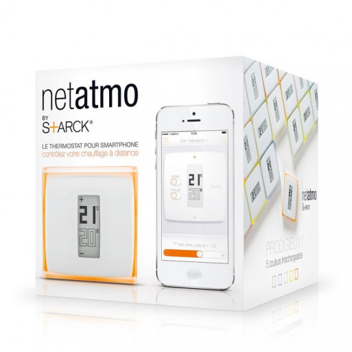 Termostat inteligent Netatmo Wi-Fi Thermostat for Smartphone