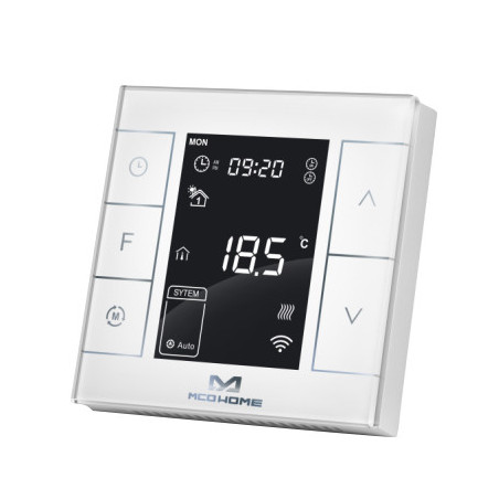 MCO Home - Electrical Heating Thermostat with humidity sensor Version 2