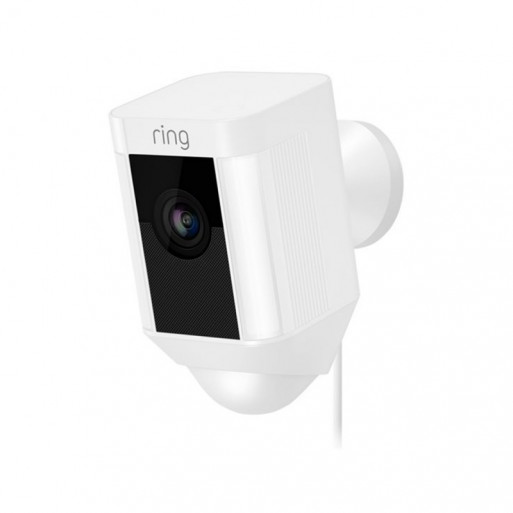 RING - Spotlight Cam Wired White