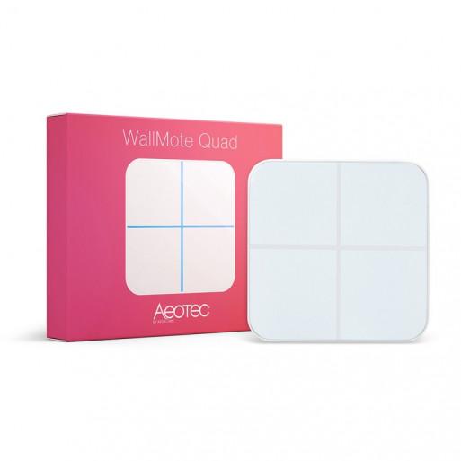Modul de control Aeotec WallMote - 4 butoane