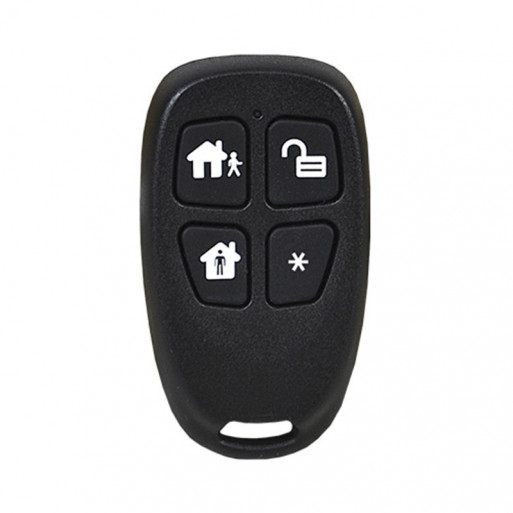 2GIG - 4-Button Key Ring Remote
