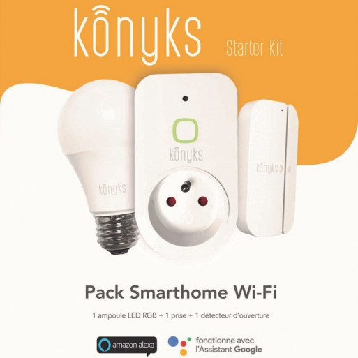 KONYKS - Wi-Fi Starter Kit (1 bulb
