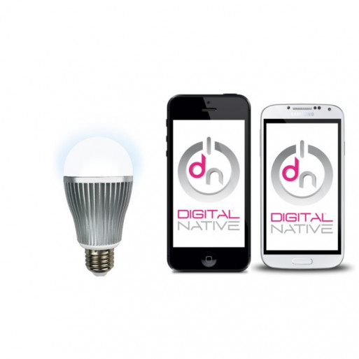 DIGITALNATIVE White LED Bulb