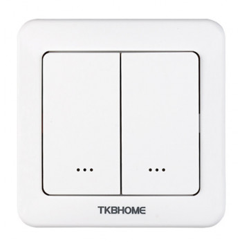 TKB Home - Wall Dimmer Switch with Double Paddle (Rounded...