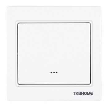 TKB Home - Wall Switch with Single Paddle (Cornered Frame)