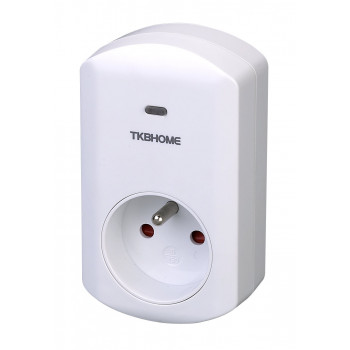 TKB Home - Z-Wave Wall Plug with Dimmer Function (Type E)