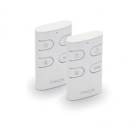 CHACON 2 x 4-Button KeyFob