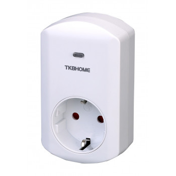 TKB Home - Wall Plug with Dimmer Function (Type F)