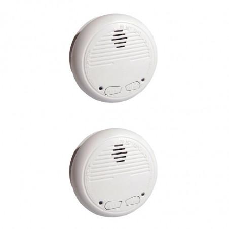 CHACON 2 x Wireless Smoke Detector