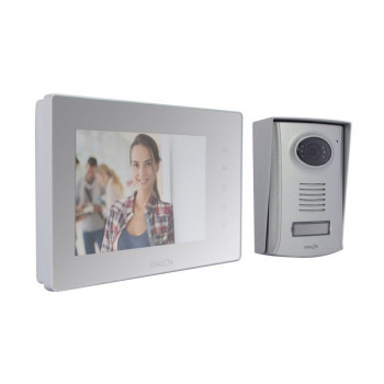 """CHACON Wired Videophone (2 wires) - Mirror Screen 7"""""""
