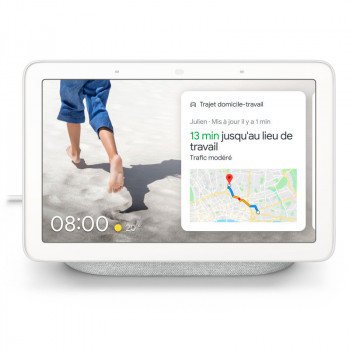 Google Nest Hub smart speaker with display - Chalk