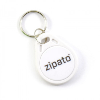 ZIPATO RFID Key Tag White