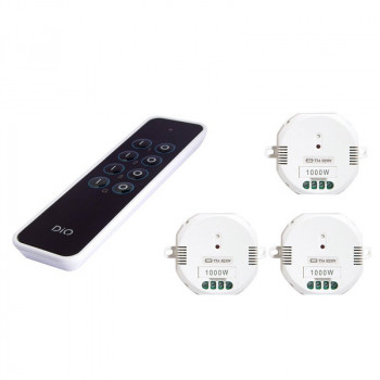 DIO 3 Channel Remote Control + ON/OFF Module