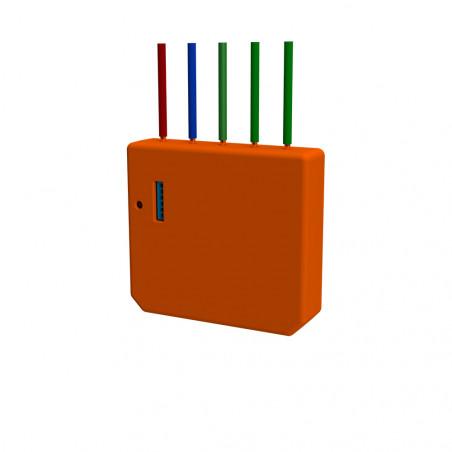 Modul Wi-Fi pentru activarea scenelor, Shelly, i3, portocaliu