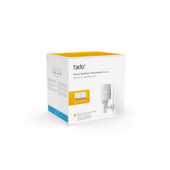 Tado - Smart Radiator Thermostat Quattro Pack - Vertical