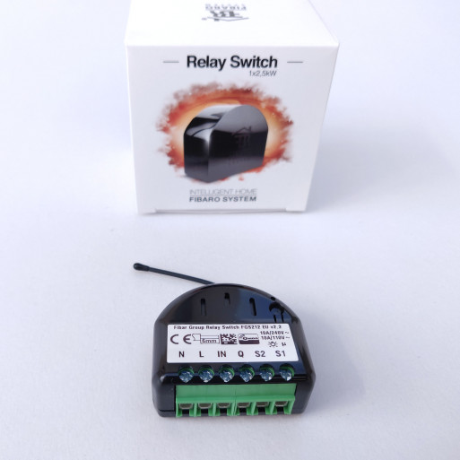 FIBARO - Single Relay Switch 1*2.5 KW