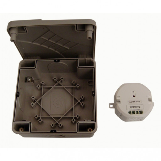 DIO ON/OFF Module 1kW + WaterProof Case for Garden