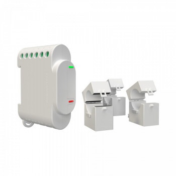 SHELLY - WiFi-operated 3 Phase Energy Meter and Contactor Control