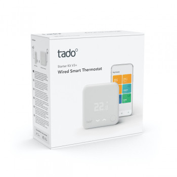 tado° Wired Smart Thermostat Starter Kit V3+ -...