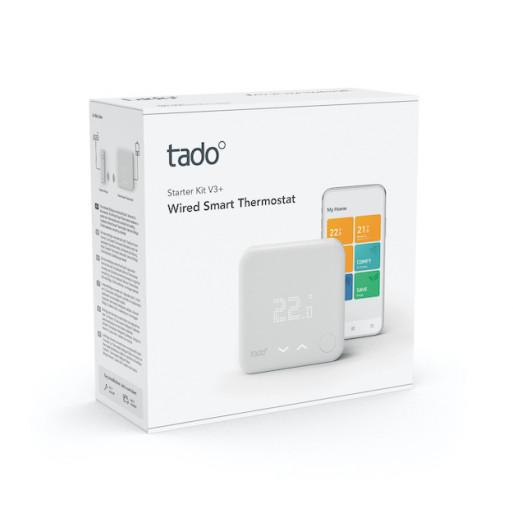 tado° Wired Smart Thermostat Starter Kit V3+ - Intelligent heating control