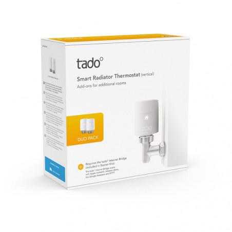 tado Smart Radiator Thermostat - Duo Pack