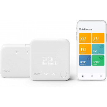 tado° Smart Thermostat V3+ Starter Kit + Extension...