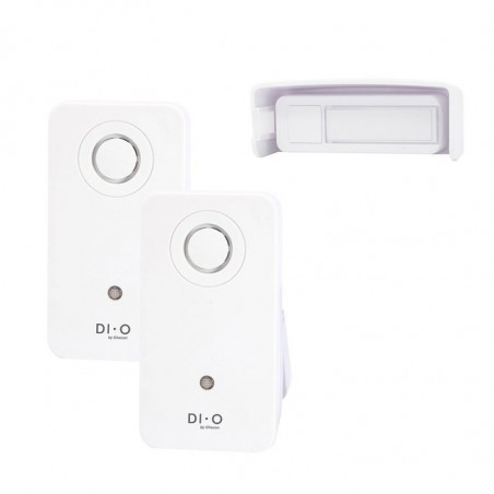 DIO Wireless Chime with 2 Receviers