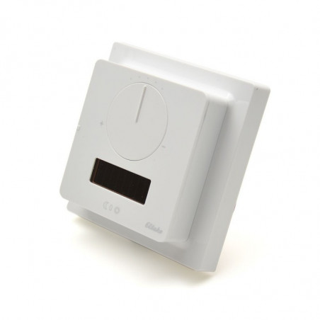 ELTAKO Temperature Controller with Hand Wheel - White