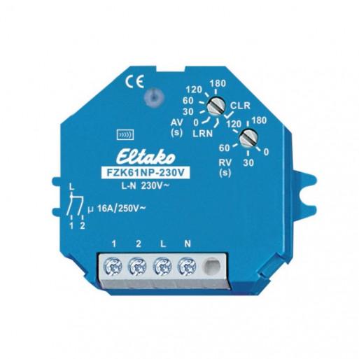 ELTAKO Timed Relay Actuator for Hotel Card or Smoke Detector